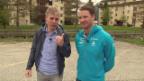 Video «Wettbewerbsaufgabe für Dario Cologna» abspielen