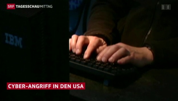 Video «Hacker-Angriff in USA» abspielen