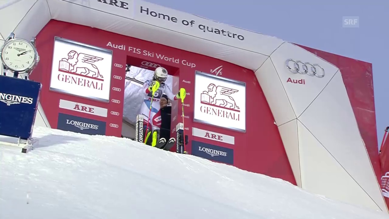 Ski alpin: Weltcup, Slalom Frauen Are, Wendy Holdener