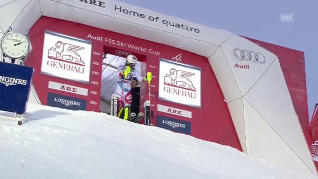 Video «Ski alpin: Weltcup, Slalom Frauen Are, Wendy Holdener» abspielen