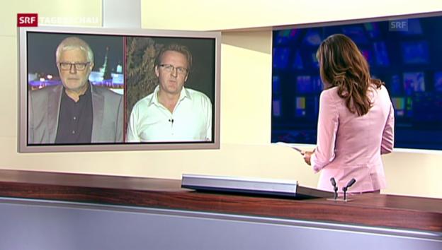 Video «Einschätzungen der SRF-Korrespondenten Gysling und Franzen» abspielen