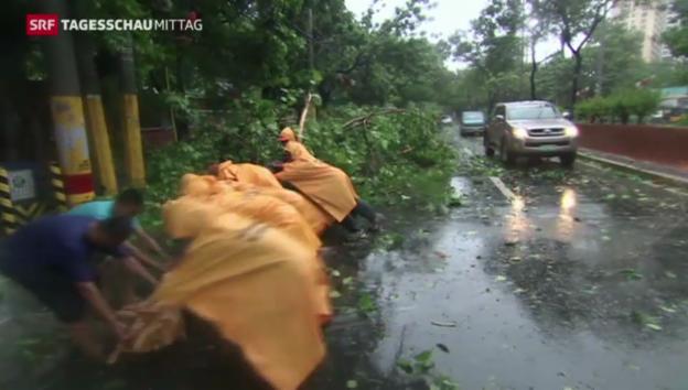 Video «Tote nach Taifun» abspielen