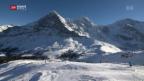 Video «Grindelwald BE: Schneemassen lassen Kassen klingeln» abspielen
