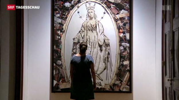 Video «Ruth Schmidheiny eröffnet Kunstzentrum in Rio» abspielen