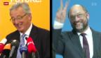 Video «Jean-Claude Juncker oder Martin Schulz?» abspielen