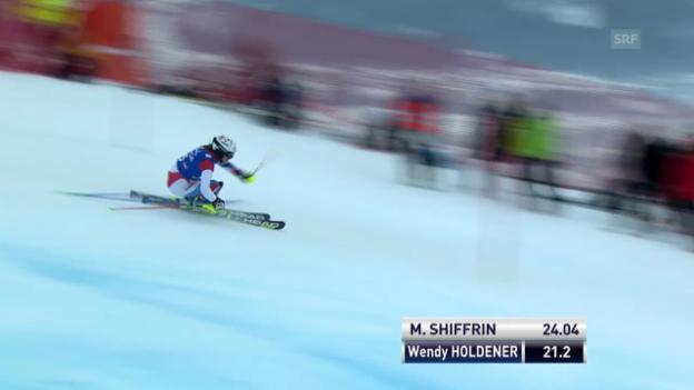 Video «Ski: Slalom Frauen in Lienz («sportlive», 29.12.2013)» abspielen