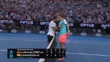 Link öffnet eine Lightbox. Video Zverev gewinnt epischen Ballwechsel, Nadal den Match abspielen