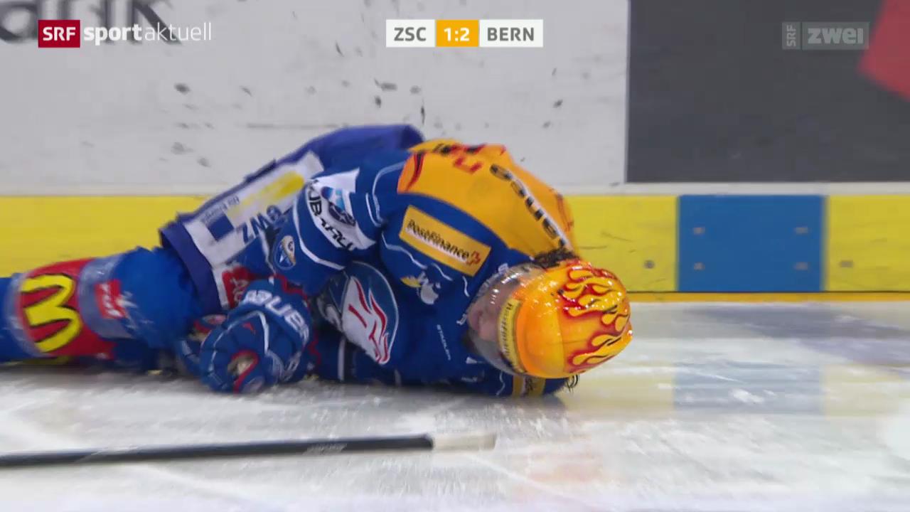 Eishockey: Der Ausfall von Roman Wick