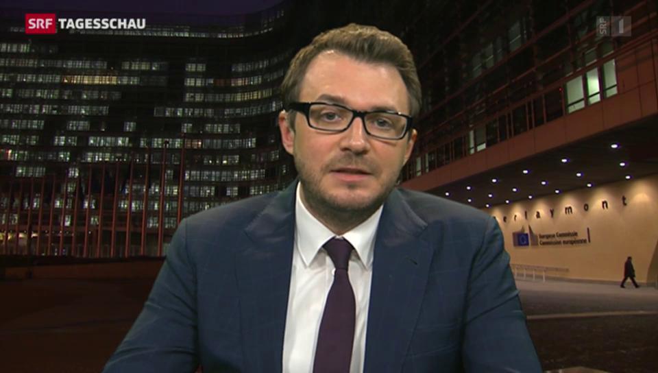 SRF-Korrespondent Sebastian Ramspeck zum Treffen
