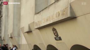 Video «Prozess gegen Hauptakteure im britischen Abhörskandal begonnen» abspielen