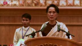 Video «Burma: Demokratie am Gängelband der Militärs?» abspielen