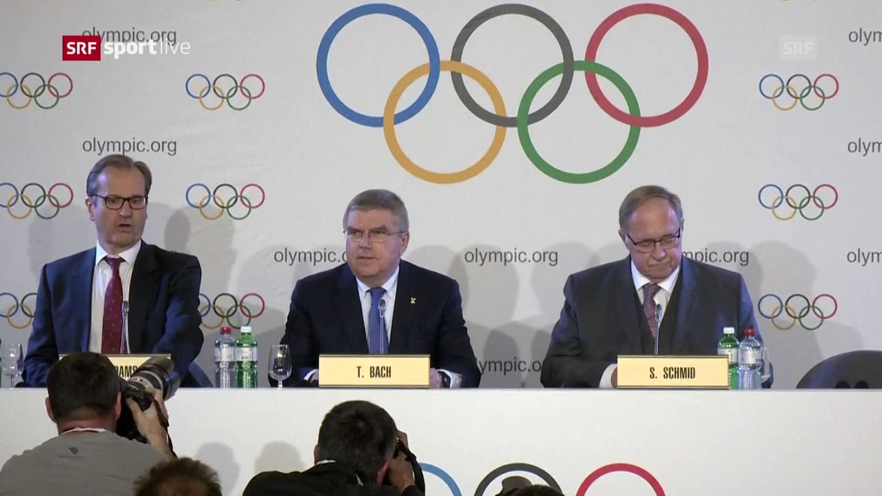 Das IOC greift gegen Russland durch