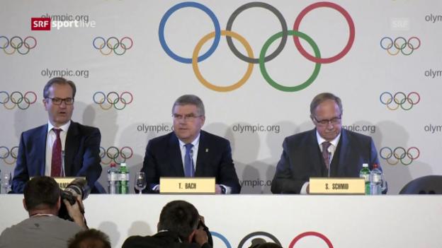 Video «Das IOC greift gegen Russland durch» abspielen
