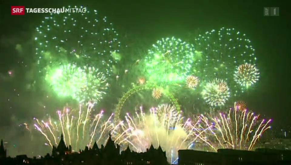 Silvesterfeiern weltweit