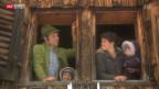Video «Schweiz aktuell auf der Alp» abspielen