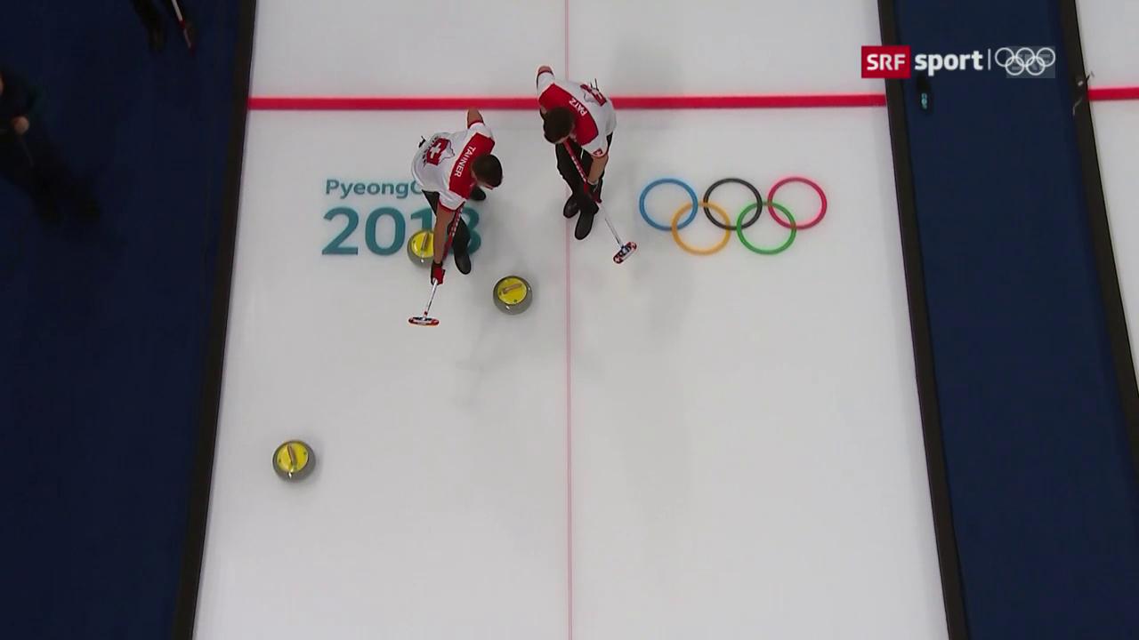 Schweizer Curler feiern 2. Sieg