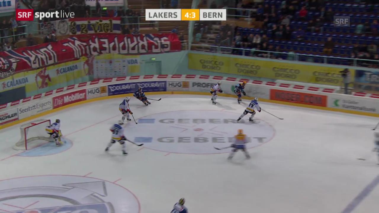 Eishockey: Rapperswil-Jona Lakers - Bern («sportlive»)
