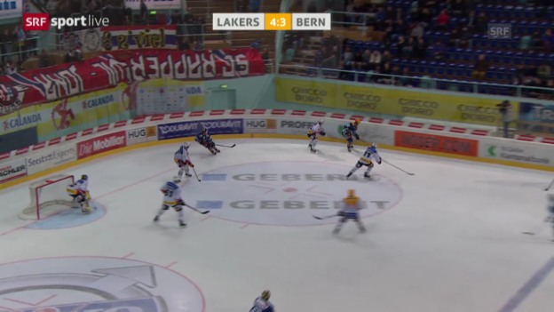 Video «Eishockey: Rapperswil-Jona Lakers - Bern («sportlive»)» abspielen