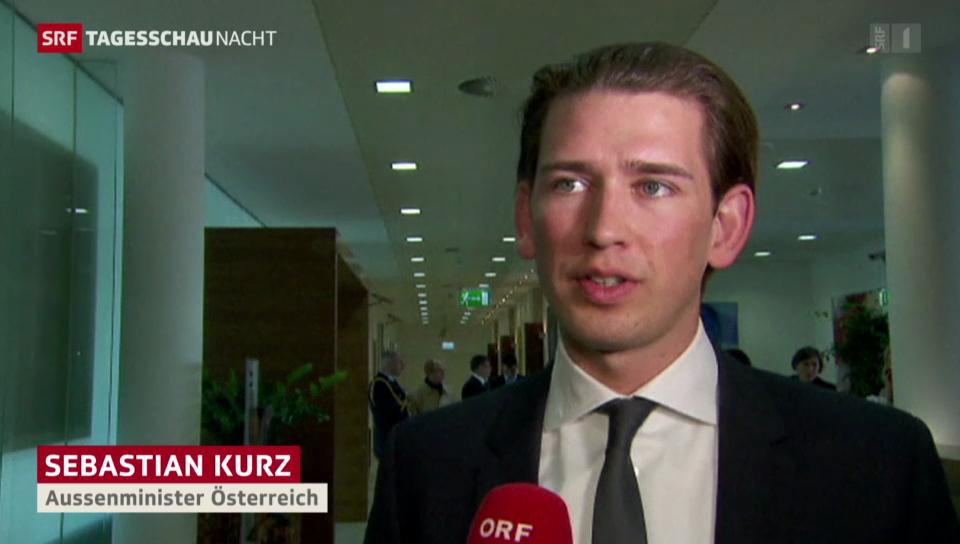 Diplomatische Ukraine-Offensive in Wien