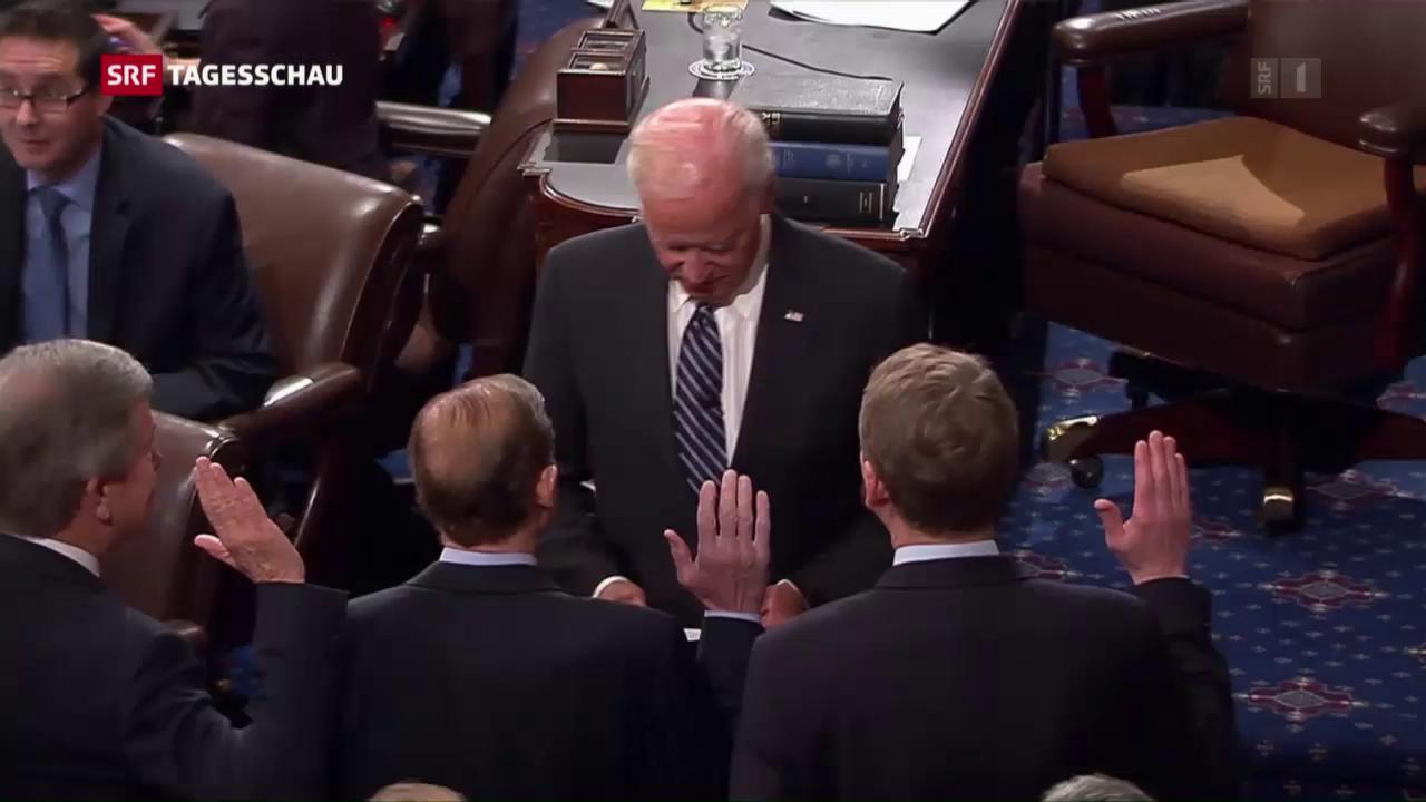 Der neue Kongress tritt erstmals zusammen