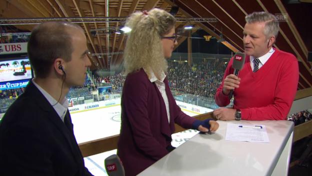 Video «Eishockey: Spengler Cup, Schurter und Neff über Rio» abspielen