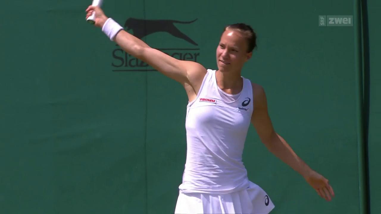 Golubic bleibt in der 2. Wimbledon-Runde hängen