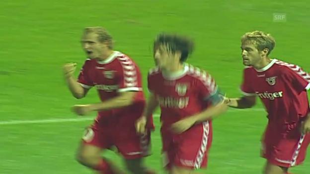 Video «Das 2:2 von Thun bei Dynamo Kiew» abspielen