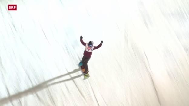 Video «Zusammenfassung Big-Air-Finale («sportaktuell»)» abspielen