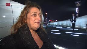 Video «Ausnahmearchitektin Zaha Hadid gestorben» abspielen