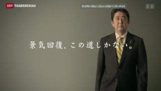 Video «Die Abstimmung über «Abenomics»» abspielen