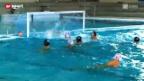 Video «Wasserball: Abenteuer Champions League für Kreuzlingen» abspielen