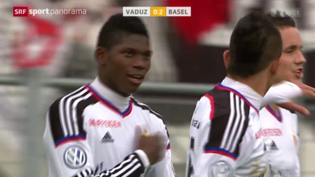 Video «Fussball: Vaduz - Basel» abspielen