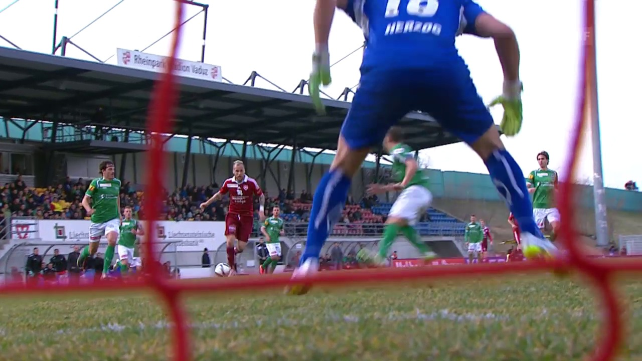 Fussball: Super League, Vaduz - St. Gallen