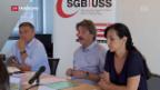 Video «Gewerkschaftsbund verweigert Verhandlungen mit Bundesrat» abspielen
