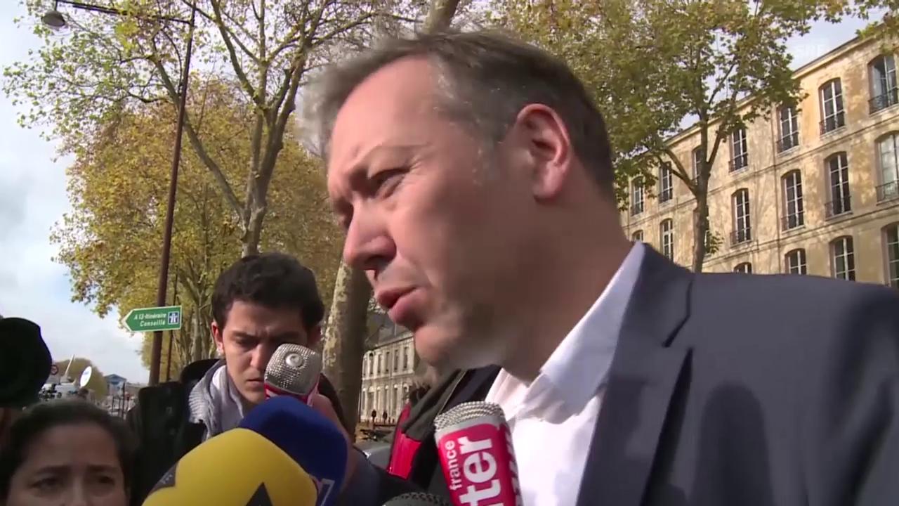 Fussball: Erklärung von Benzemas Anwalt Sylvain Cormier (Quelle: sntv)