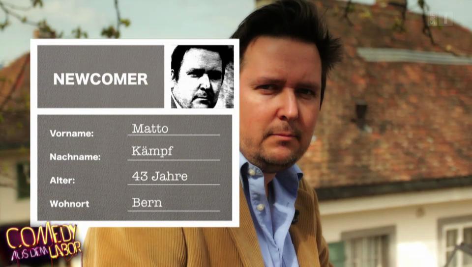 Matto Kämpf Porträt