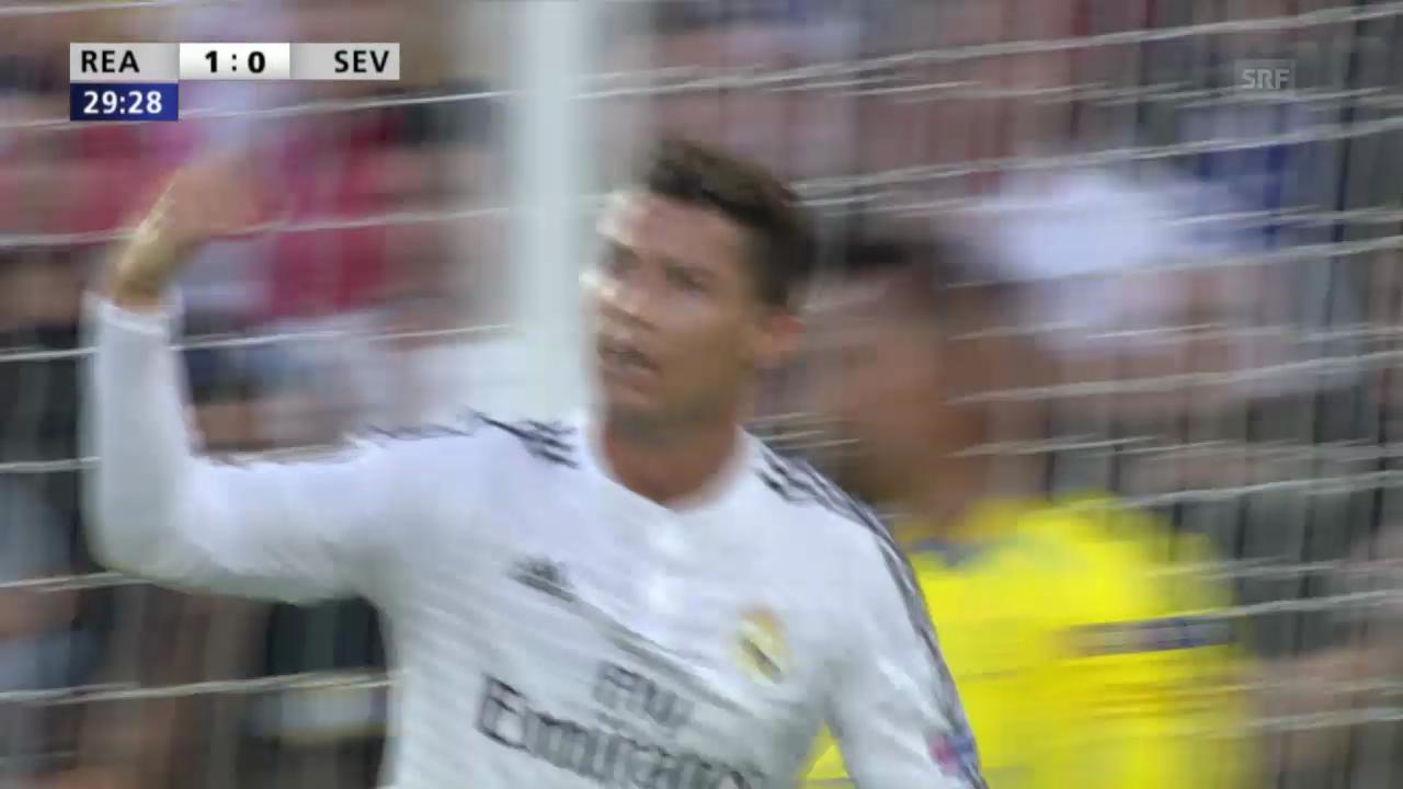 Fussball: Highlights Real Madrid-FC Sevilla