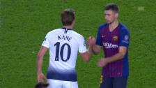 Link öffnet eine Lightbox. Video Tottenham dank Remis gegen Barcelona im Glück abspielen