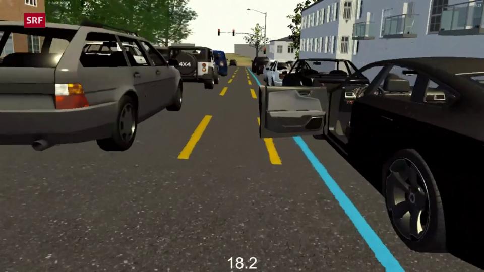Vorsicht, Autotüre!