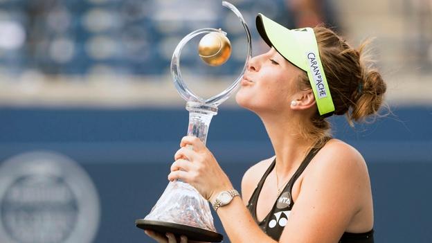 Belinda Bencic gewinnt in Toronto