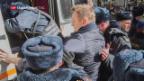 Video «Russland: Hunderte in Haft» abspielen