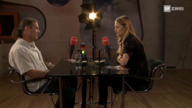 Video «Focus «Blind Date» - Nadine Strittmatter & Oskar Freysinger» abspielen