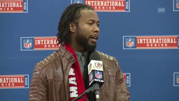 Video «Die Schimpftirade von Redskins-Verteidiger Norman» abspielen