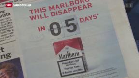 Video «Bundesrat gegen Tabakwerbung» abspielen