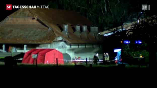 Video «Zwei Tote bei einer Schiesserei in Oensingen» abspielen