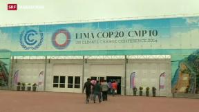 Video «In Lima feilschen sie weiter ums Klima» abspielen