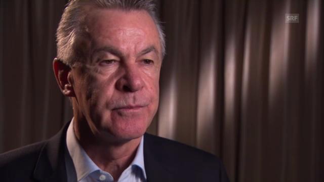 Fussball: Ottmar Hitzfeld über Oliver Kahn
