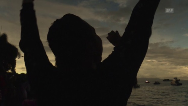 Video «Beginn der Sonnenfinsternis in Indonesien» abspielen