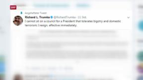 Video «Trump relativiert seine Rassismus-Kritik» abspielen