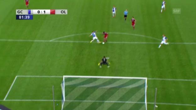 Video «Highlights GC - Lyon («sportlive»)» abspielen